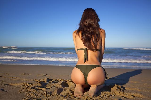Cwiczenia na plaży